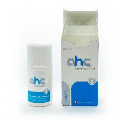 AHC classic Antitranspirant Test