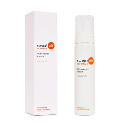 Sweat-Off Antitranspirant Schaum Produktabbildung