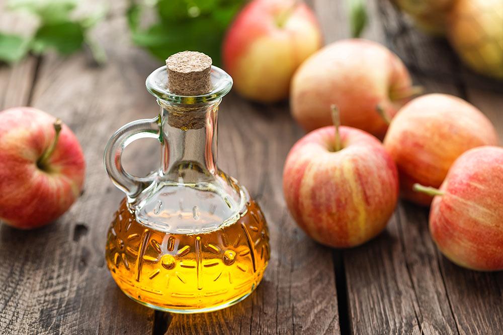 Apfelessig bei Schwitzen