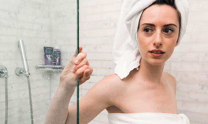 Schweißgeruch nach dem Duschen
