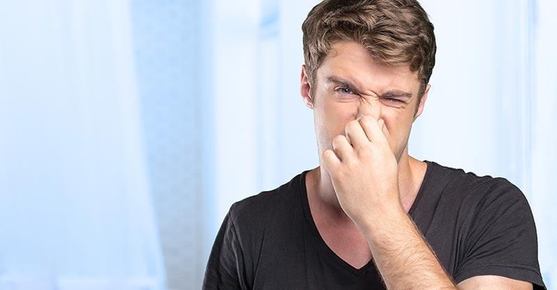 Plötzlich starker Schweißgeruch?
